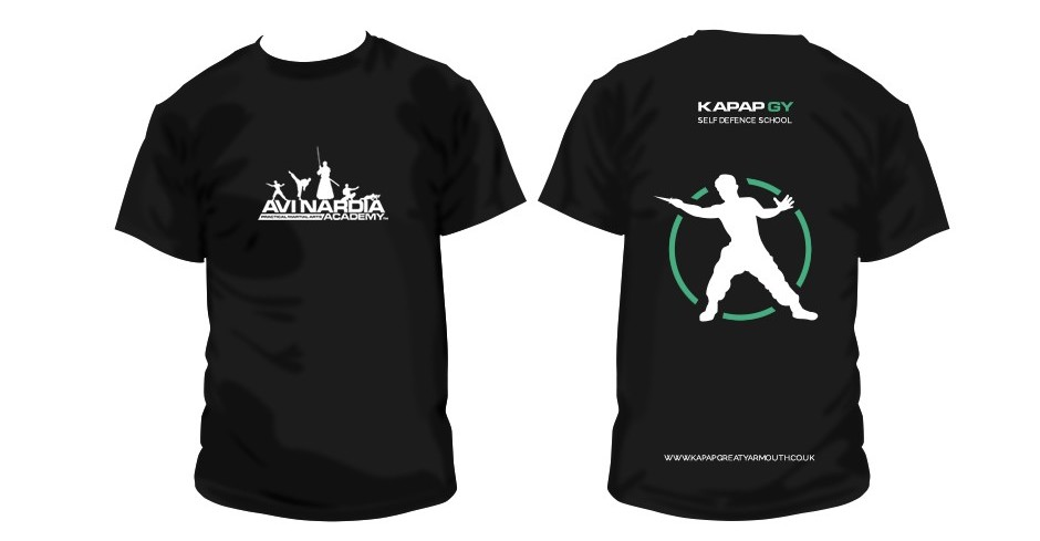 T shirt design for KAPAP UK clubs