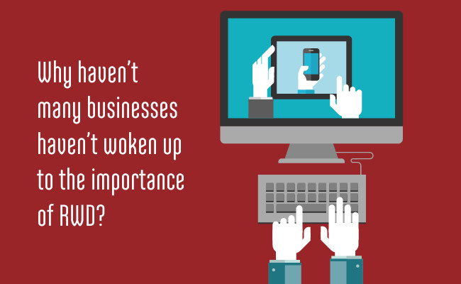 Why haven't business woken up to the importance of mobile responsive web design