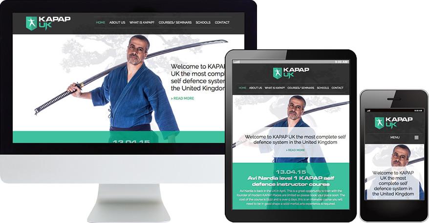 Razor sharp new website design for 2015